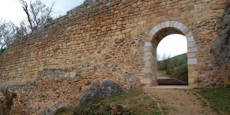Puerta de San Ginés, Muralla de Soria