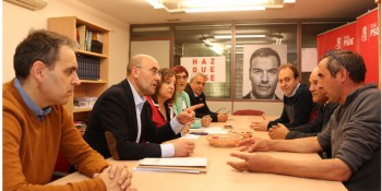Iratxe García reunión OPAS
